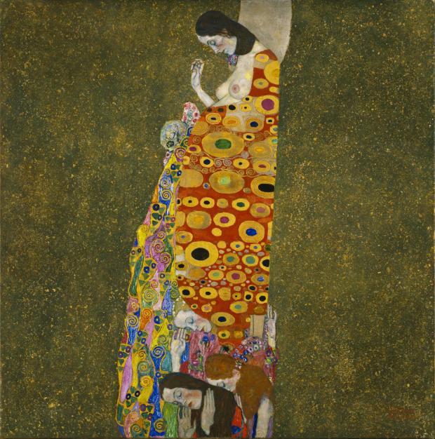 Hope II, Gustav Klimt, 1907-08.