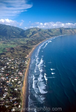 Raumati South, Kapiti Coast, Lower North Island - aerial